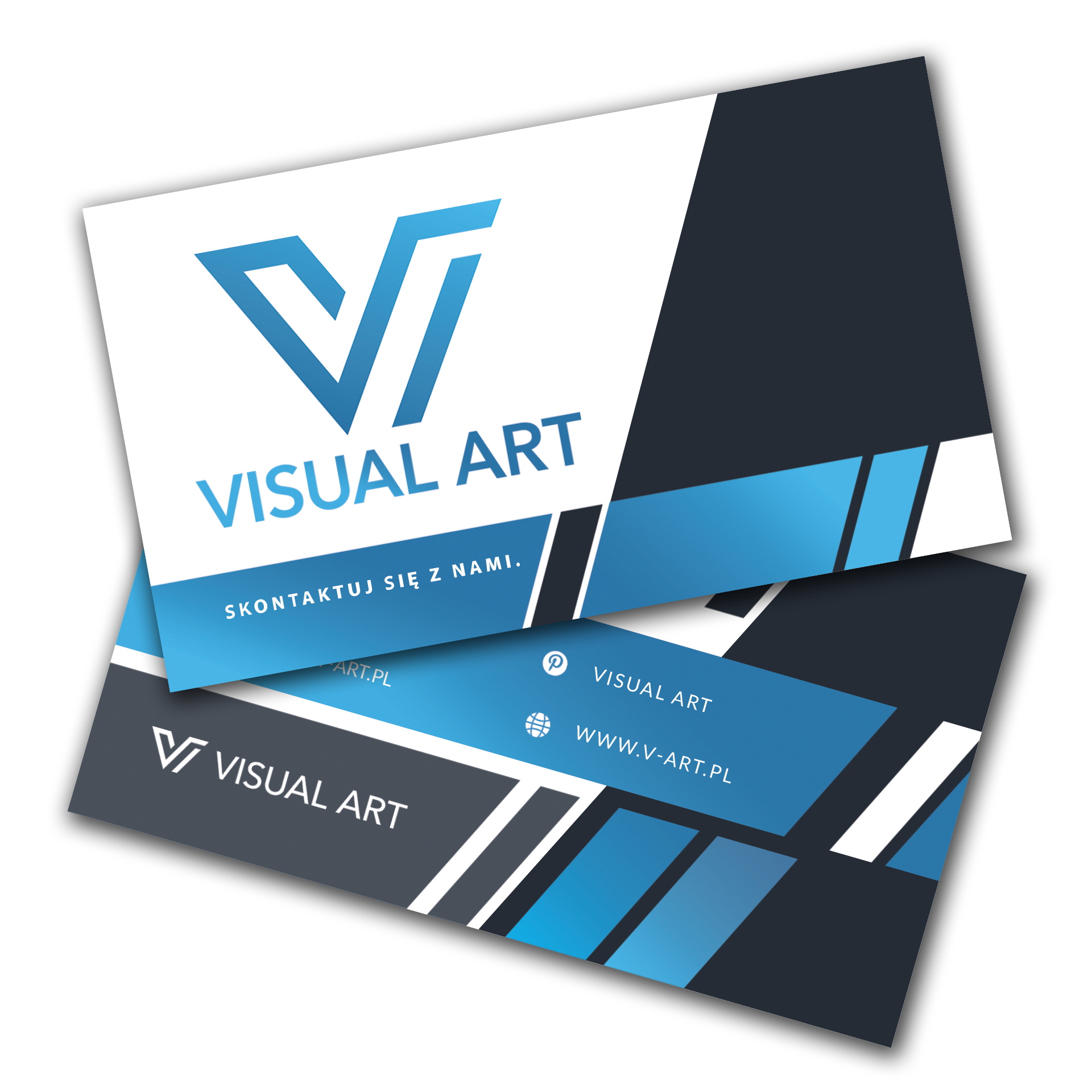 Wizytówki Visual Art