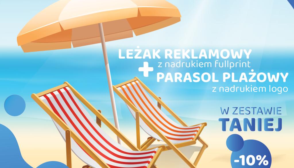 Parasol + leżak